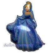 Cinderella Luftballon mit Helium Ballongas