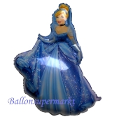 Cinderella Shape Luftballon aus Folie, ohne Helium-Ballongas