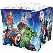 Avengers Cubez Luftballon aus Folie ohne Ballongas