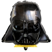 Darth Vader, Star Wars Luftballon aus Folie inklusive Helium