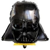 Darth Vader aus Star Wars Luftballon aus Folie ohne Ballongas
