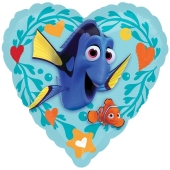 Findet Dorie Love Luftballon aus Folie in Herzform