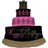 Happy Birthday Geburtstagstorte Luftballon, Shape