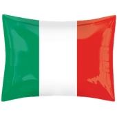 Nationalflagge Italien Luftballon, Folienballon mit Helium-Ballongas