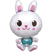 Luftballon Funny Bunny, ohne Helium-Ballongas