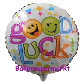 Good Luck, Luftballon aus Folie ohne Helium-Ballo