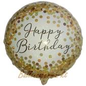 Luftballon zum Geburtstag mit Helium