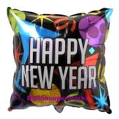 Silvester Luftballon, Silvester-Partydekoration, Folienballon mit Ballongas, Balloons