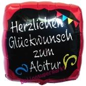 Herzlichen Glückwunsch zum Abitur Luftballon zum Abit mit Ballongas-Helium