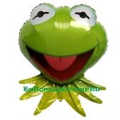 Kermit der Frosch, Luftballon aus Folie mit Helium