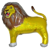 Löwe, Luftballon aus Folie mit Helium