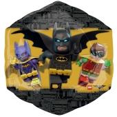 LEGO Batman Luftballon aus Folie ohne Ballongas