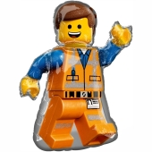 Emmet, LEGO Movie 2 Luftballon aus Folie inklusive Helium