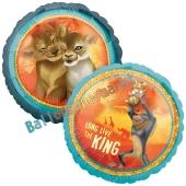 Der König der Löwen Luftballon aus Folie in Rundform