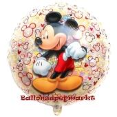 Mickey Maus, holografischer Luftballon inklusive Helium/Ballongas