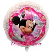 Minnie Maus, holografischer Luftballon inklusive Helium/Ballongas