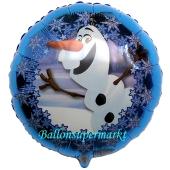 Olaf Luftballon aus Folie, inklusive Helium/Ballongas
