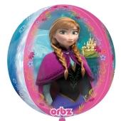 Eiskönigun Orbz, Luftballon aus Folie mit Helium