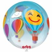Orbz Luftballon aus Folie, Heißluftballons inklusive Helium
