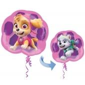 Paw Patrol, Skye und Everest,  Luftballon inklusive Helium/Ballongas