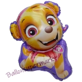 Skye, Paw Patrol Luftballon mit Helium Ballongas