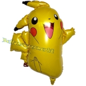 Pikachu, Pokémon Luftballon aus Folie inklusive Helium