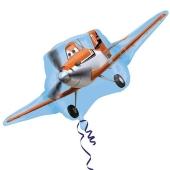 Dusty, Planes, Propeller-Flugzeug Luftballon inklusive Helium
