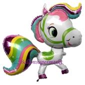 Pferd, Luftballon aus Folie mit Helium