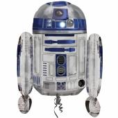 R2D2 aus Star Wars Luftballon aus Folie ohne Ballongas