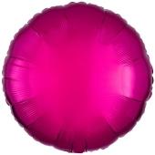 Rundluftballon Pink, 45 cm mit Ballongas Helium