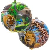 Luftballon aus Folie, Safari, inklusive Helium