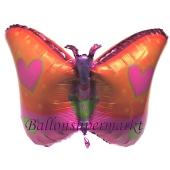 Folienballon Schmetterling, ohne Helium, ungefüllt