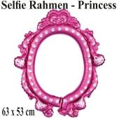 Disney Princess, aufblasbarer Selfie-Rahmen, Folienballon, Fotorahmen