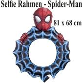 Spider-Man, aufblasbarer Selfie-Rahmen, Folienballon, Fotorahmen