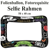 Aufblasbarer Selfie-Rahmen, Photo Both Folienballon, Fotorahmen