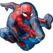 Ultimate Spider-ManLuftballon aus Folie, Shape, inklusive Helium