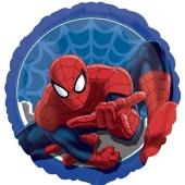 Spider-Man, runder Luftballon aus Folie inklusive Helium