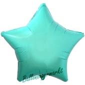 Sternballon, Türkis, Luftballon Stern, Ballonstern, Ballon in Sternform mit Ballongas Helium