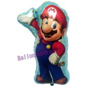 Super Mario Luftballon aus Folie inklusive Helium