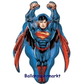 Superman Luftballon aus Folie inklusive Helium