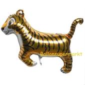 Tiger, Luftballon aus Folie mit Helium
