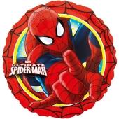 Ultimate Spider-Man, runder Luftballon aus Folie inklusive Helium