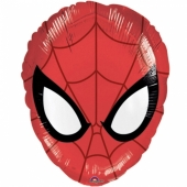 Folienballon Ultimate Spider-Man Head ohne Helium