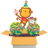 Birthday Monkeys, Ballons mit Helium