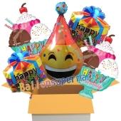 5 Stück Luftballons zum Geburtstag, Birthday Party