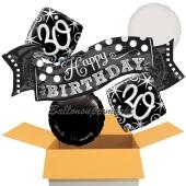 5 Luftballons zum 30. Geburtstag, Elegant Birthday