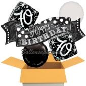 5 Luftballons zum 70. Geburtstag, Elegant Birthday