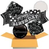 5 Luftballons zum Geburtstag, Elegant Birthday