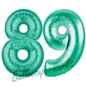 89 . Geburtstag, 100 cm, inklusive Helium