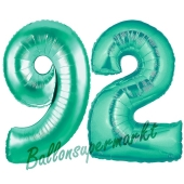 92 . Geburtstag, 100 cm, inklusive Helium